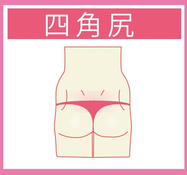 四角尻の特徴