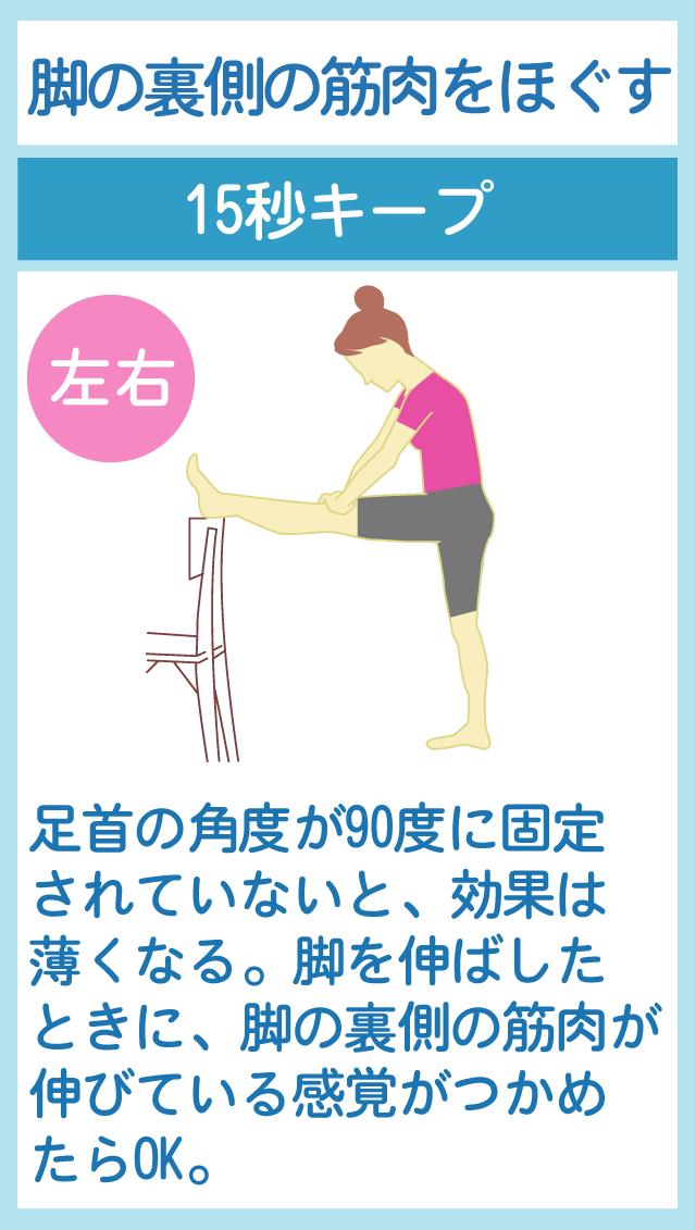 足裏の筋肉をほぐして代謝を良くする