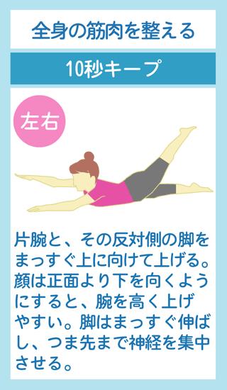 全身の筋肉を鍛える