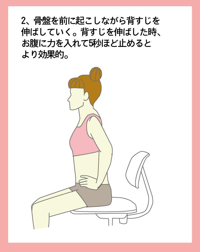 便秘解消エクササイズ4