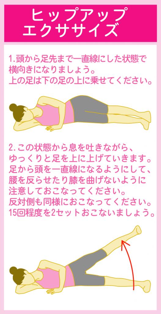 足を開く運動