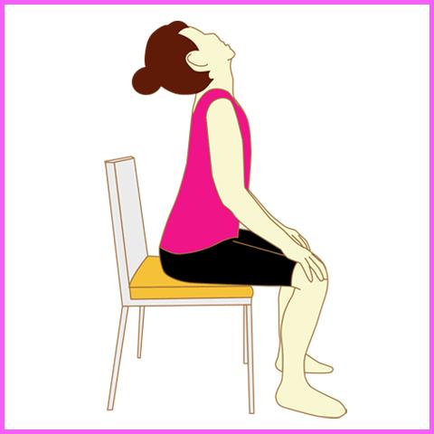 猫背改善:背筋を反らす運動