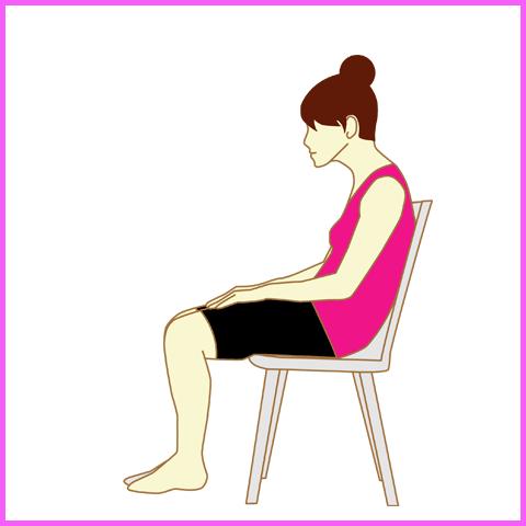 椅子 正しい 座り方