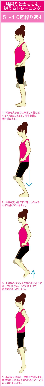 タオルを使ったO脚改善スクワット