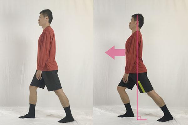 ランジストレッチは立ったまま出来る腸腰筋ストレッチ