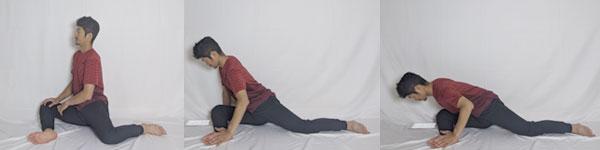 臀筋のストレッチで骨盤の歪みを改善していく