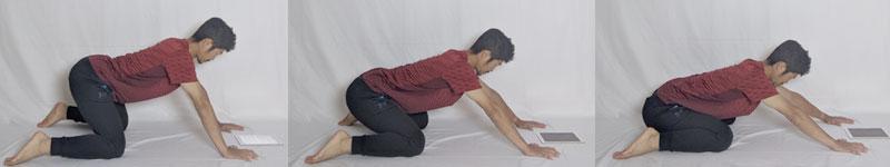 骨盤の歪み改善に役立つカエルストレッチ