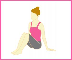 股関節の歪みのチェック方法1