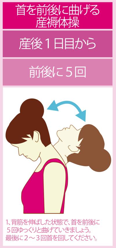 産後翌日からの産褥体操