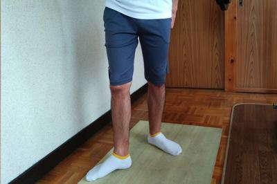 大腿骨をねじる前の画像