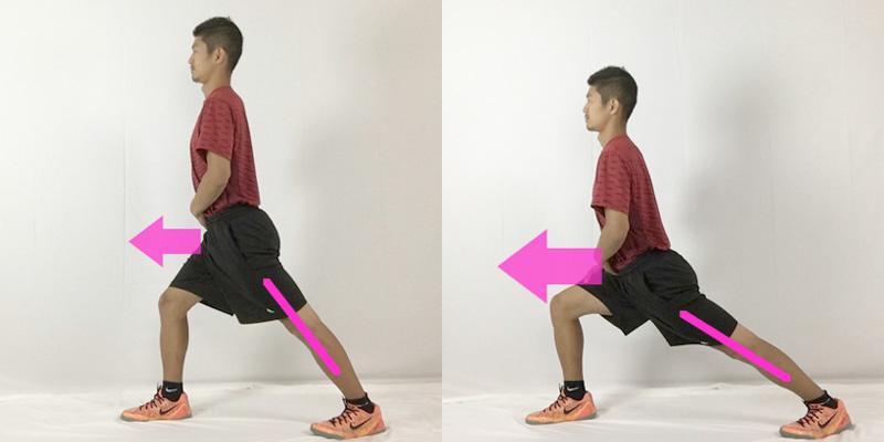 腓腹筋に効かせるストレッチ方法は膝を曲げない事がポイント!