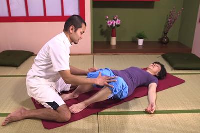 ぎっくり腰の応急処置2
