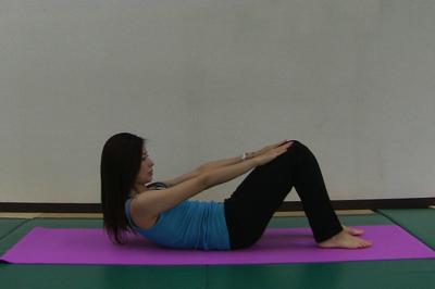 産後1ヶ月からの腹筋運動2