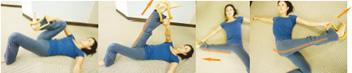 股関節が硬い方向けのエクササイズ3