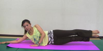 横腹・脇腹の筋トレ方法3