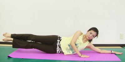 横腹・脇腹の筋トレ方法5