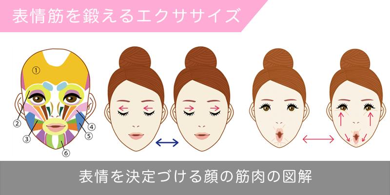 表情筋を鍛えるエクササイズ方法