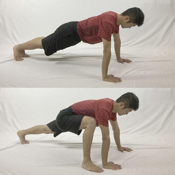 股関節をほぐすスパイダー習得のためのステップ①