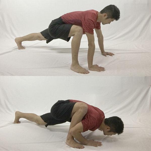 股関節をほぐすスパイダー習得のためのステップ2