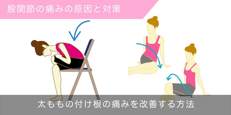 股関節の痛みの原因と対策
