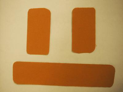 準備するキネシオテープの種類