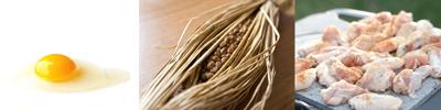 アミノ酸を多く含む・たまごや納豆・鶏胸肉