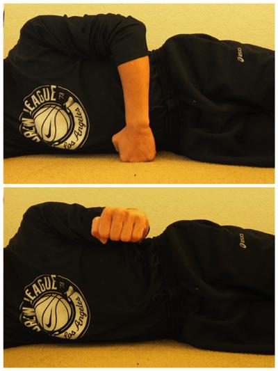 小円筋と肩甲下筋を鍛える筋トレ1