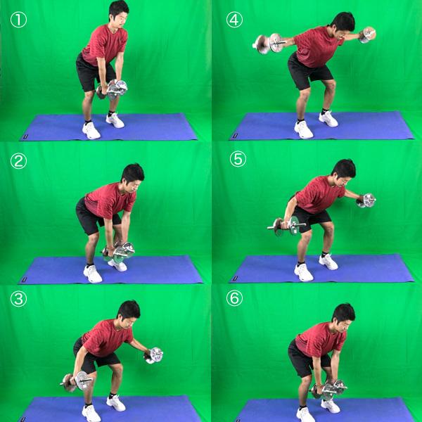ベントオーバー・サイドレイズで僧帽筋周辺を鍛えるトレーニング方法