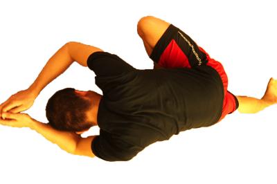 足底筋膜炎の改善に役立つお尻の筋肉のストレッチ