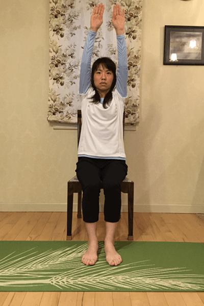 腹部深層筋の安定化+肩甲帯の可動させるドローイン腹筋2