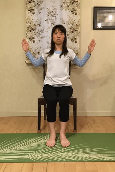 腹部深層筋の安定化+肩甲帯の可動させるドローイン腹筋3