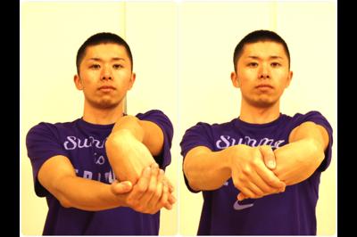 手首の屈曲ストレッチ3
