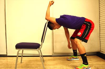 腕のストレッチ方法