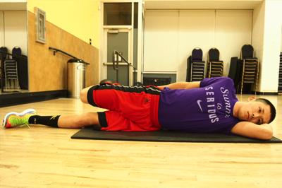 大腿四頭筋のストレッチ2