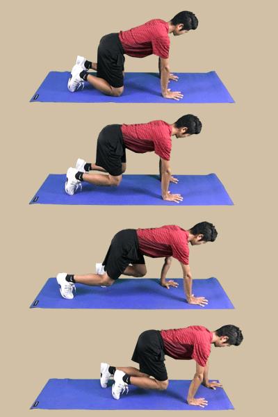 体幹トレーニング-ビーストの実践方法