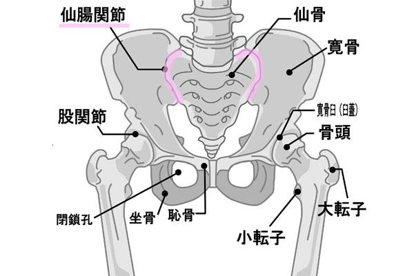 片足で足上げ腹筋で仙腸関節が浮かないように注意する