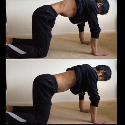 腹部のインナーマッスルを鍛えるドローイン