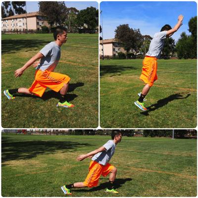 スプリットジャンプの実践方法