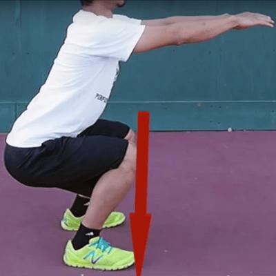 膝痛を予防する正しいスクワットのポイント
