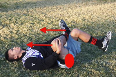 股関節:臀筋群のストレッチ