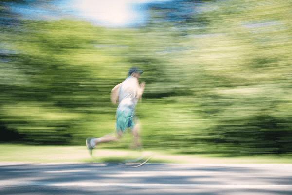 スタミナの向上に役立つインターバルトレーニング