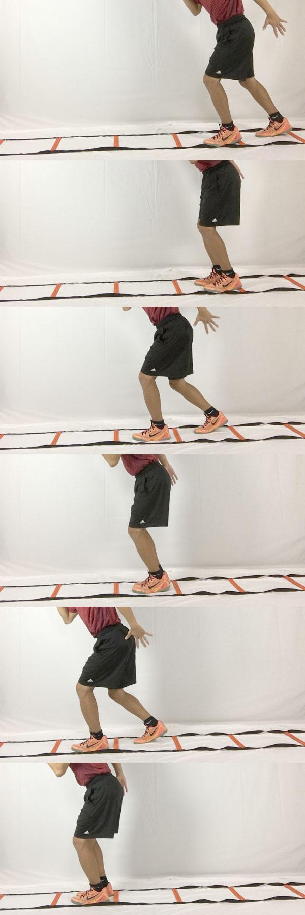 2フィートイン:サッカー向けのラダートレーニング
