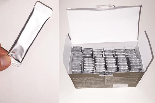 生漢煎防風通聖散は個別包装で持ち運びが簡単な点が特徴