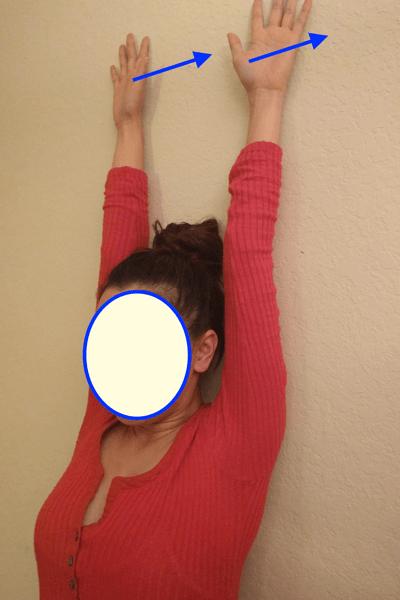 肩甲骨周辺を鍛えるエクササイズ2