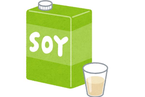 ヘルシーで生理前の食欲をコントロールに役立つ豆乳