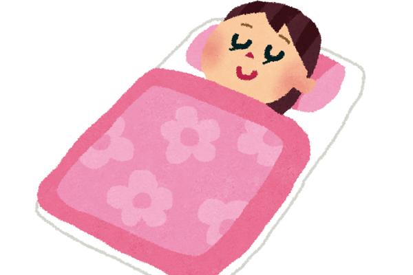 十分な睡眠はPMS対策になる