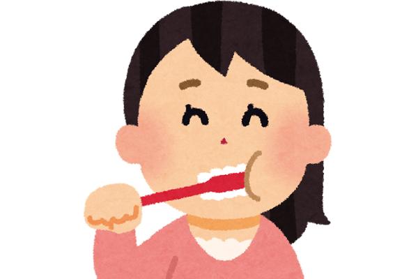 食欲のコントロールに歯磨き