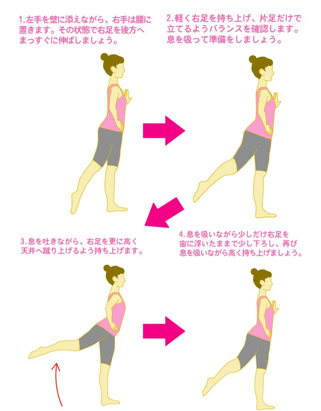お手軽ヒップアップ筋トレ1