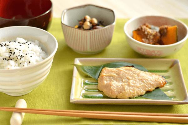 和食の基本一汁三菜はダイエットにも役立つ