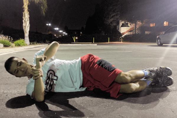 野球肩の予防に役立つストレッチ